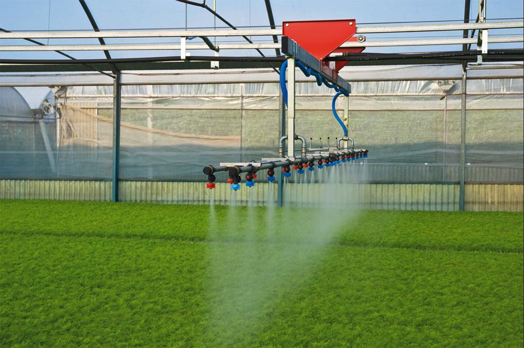 آبباری گلخانهها-پارس سدروس